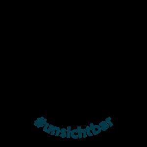 #unsichtbar Logo